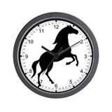 Shadow horse Wall Clock