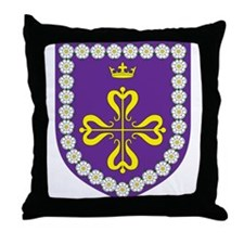 Queen of Calontir Throw Pillow