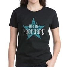 Blue Star Due In February Tee