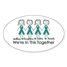 We're In This Together (Ovarian) Decal