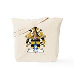 Haug Family Crest Tote Bag