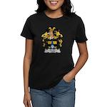 Haug Family Crest Women's Dark T-Shirt