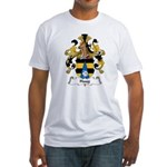 Haug Family Crest Fitted T-Shirt