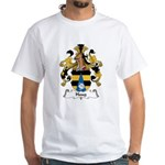 Haug Family Crest White T-Shirt