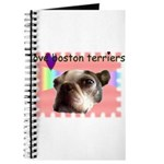 LOVE MY BOSTON TERRIER Journal