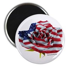 "American Rose 2.25"" Magnet (100 pack)"