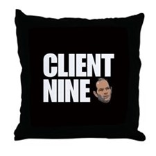 CLIENT 9 Brothel Throw Pillow