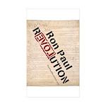 Ron Paul Constitution Rectangle Sticker 50 pk)
