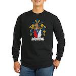 Hartung Family Crest Long Sleeve Dark T-Shirt