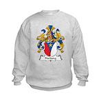 Hartung Family Crest Kids Sweatshirt