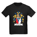 Hartung Family Crest Kids Dark T-Shirt