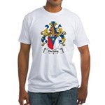 Hartung Family Crest Fitted T-Shirt