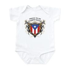 Proud to be Puerto Rican Infant Bodysuit