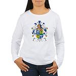 Hartel Family Crest Women's Long Sleeve T-Shirt