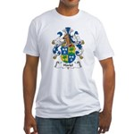 Hartel Family Crest Fitted T-Shirt