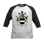 Harras Family Crest Kids Baseball Jersey