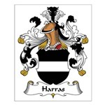 Harras Family Crest Small Poster