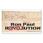 Ron Paul Preamble-C Rectangle Sticker 50 pk)