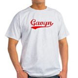 Vintage Gavyn (Red) T-Shirt
