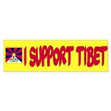 Yellow Support Bumper Stickers