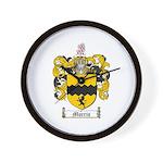 Morris Family Crest Wall Clock