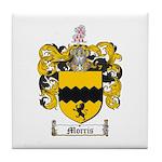 Morris Family Crest Tile Coaster