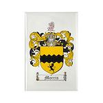 Morris Family Crest Rectangle Magnet (10 pack)