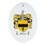Morris Family Crest Oval Ornament