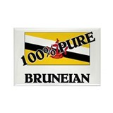 100 Percent BRUNEIAN Rectangle Magnet (10 pack)