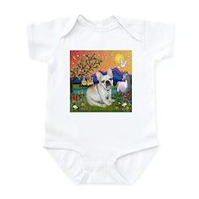 French Bulldog in Fantasyland Infant Bodysuit