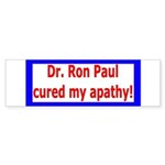 Ron Paul cure-4 Bumper Sticker (10 pk)