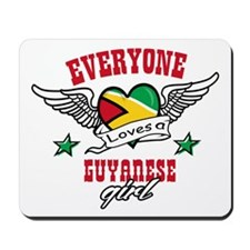 Everyone loves a Guyanese girl Mousepad