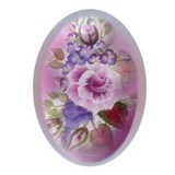 Easter Design Oval Ornament