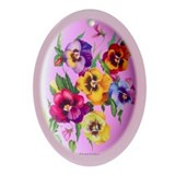 Easter Design Ornament Oval Ornament