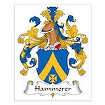 Hammerer Family Crest Small Poster