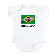 100 Percent BRAZILIAN Infant Bodysuit
