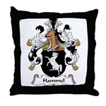Hammel Family Crest Throw Pillow
