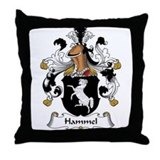 Hammel Family Crest Throw Pillow