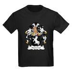 Hammel Family Crest Kids Dark T-Shirt