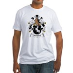 Hammel Family Crest Fitted T-Shirt