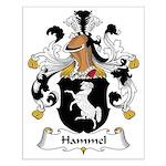 Hammel Family Crest Small Poster