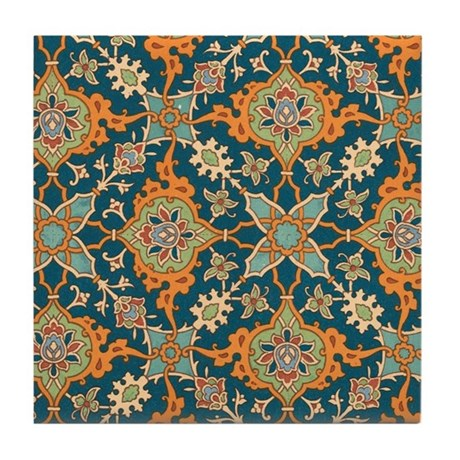Moroccan Pattern Tile Coasters