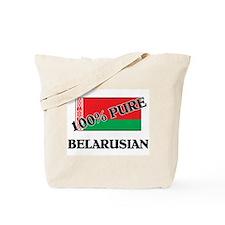 100 Percent BELARUSIAN Tote Bag
