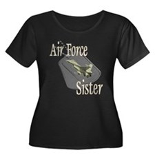 Jet Air Force Sister Women's Plus Size Scoop Neck
