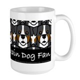 Bernese mountain dogs Large Mug (15 oz)