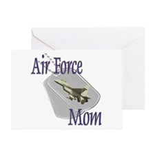 Jet Air Force Mom Greeting Card