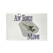 Jet Air Force Mom Rectangle Magnet (100 pack)