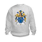 Haer Family Crest Kids Sweatshirt