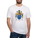 Haer Family Crest Fitted T-Shirt