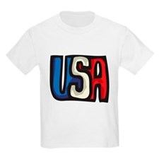 USA big letters T-Shirt